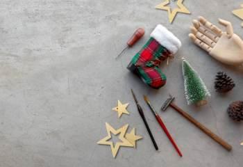 Votre arbre de Noël en DIY avec Castorama