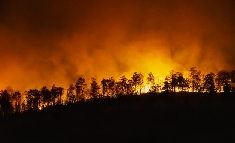 Incendie grave en Californie !