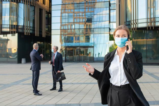 Le port du masque en entreprise