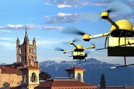 La Poste-Suisse va réaliser des tests de livraison de colis par drone