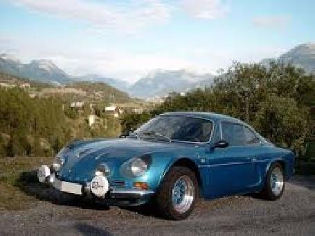 Retour de l'Alpine Renault