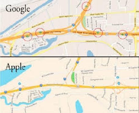 Apple annonce l'utilisation de voitures, tout comme Google, pour rassembler des informations