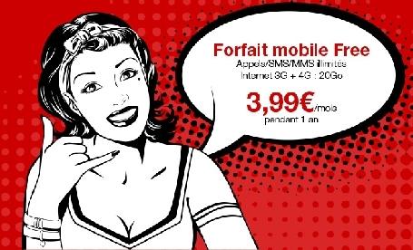 Les soldes sont arrivées chez Free Mobile