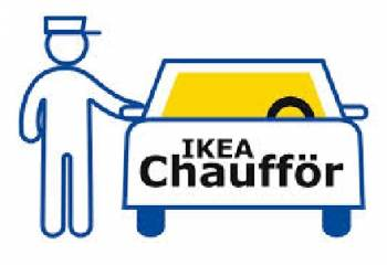 ikea lance un service de chauffeurs. Black Bedroom Furniture Sets. Home Design Ideas