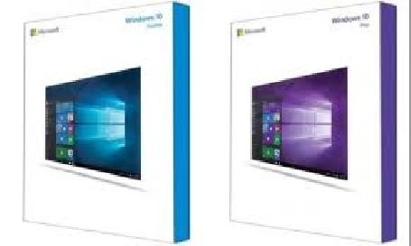 Le design de la boîte de Windows 10 a été dévoilé sur Internet
