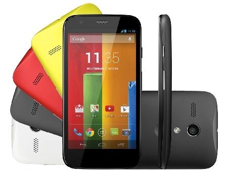 Et voici le nouveau Moto G de Motorola