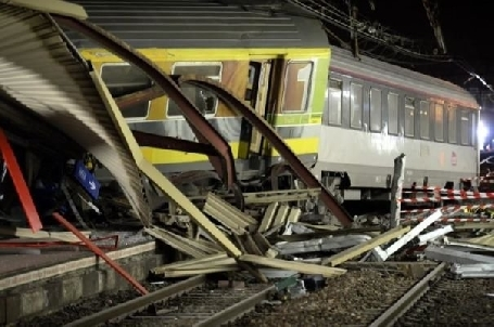 Accident de train à Brétigny
