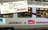 Grêve des usagers sur la ligne SNCF Pa...