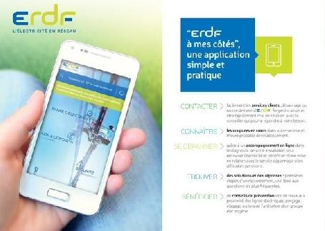 ERDF lance une application gratuite pour mieux renseigner les usagers