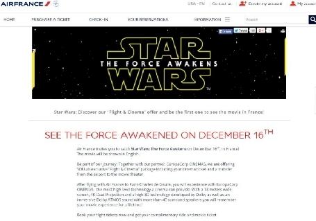 Petit retard pour voir Star Wars VII en avance