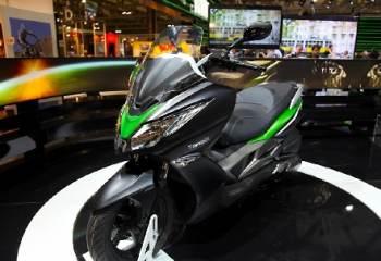 Kawasaki présente son premier scooter 125 cm