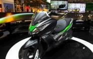 Kawasaki présente son premier scooter ...