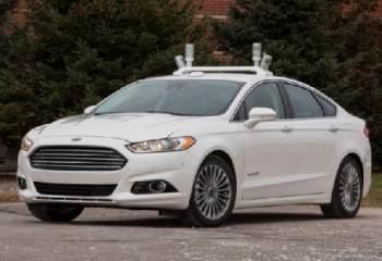Ford commencera des tests pour sa voiture autonome dès 2016