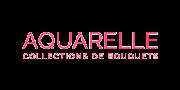 Téléphone de l'entreprise de vente de fleurs par internet Aquarelle.