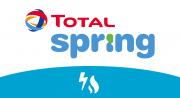 Contactez le fournisseur d'électricité et de gaz, Total Spring.