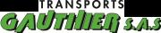 Appelez la compagnie de transport Transports Gauthier par téléphone.