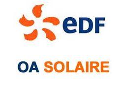 Télephone information entreprise  EDF-OA Solaire