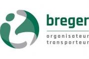 Nous avons le numéro de téléphone de la société de transport Breger