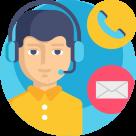 Telephone Contacter par email avec le service client