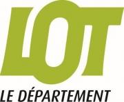 Département du Lot, coordonnées