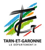 Toutes les coordonnées du département du Tarn et Garonne