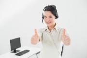 Contact téléphonique avec l'agence Premieres Lignes