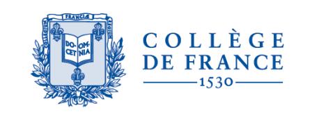 Télephone information entreprise  Collège de France