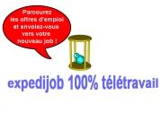 Trouvez votre emploi à distance avec Expedijob