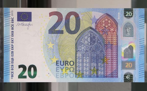 Arrivée du nouveau billet de 20 euros