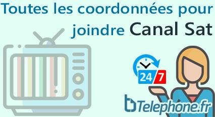 Telephone Canalsat Service A La Clientele